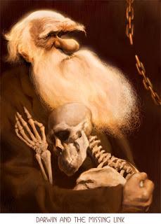 Charles-Darwin-Caricature Court Jones