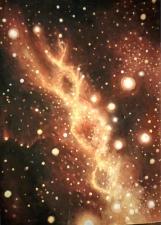 Double helix galaxy