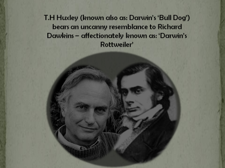 dawkins and huxley uncanny resemblance