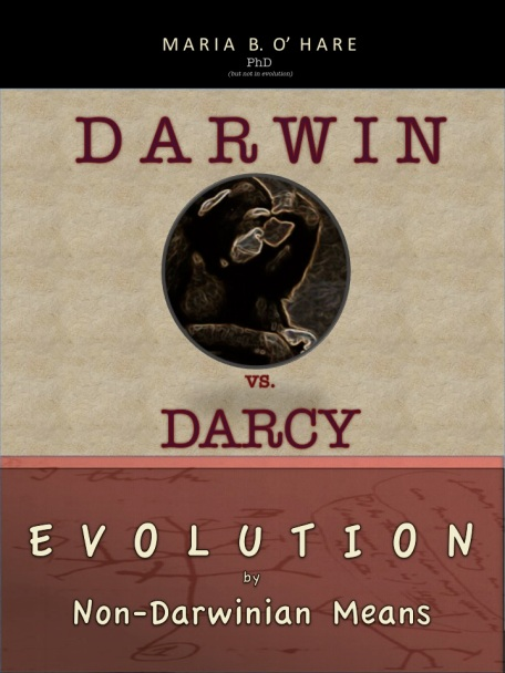 Darcy vs Darwin new book cover